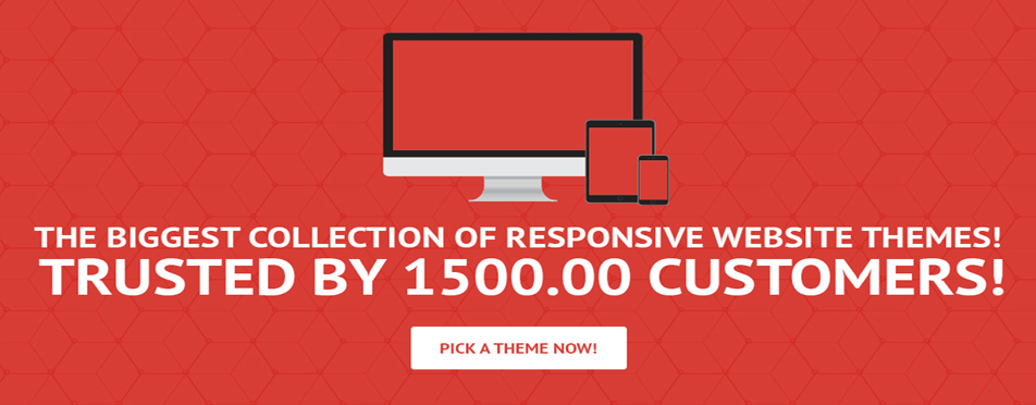 The Biggest Collection Of Responsive Website Themes!