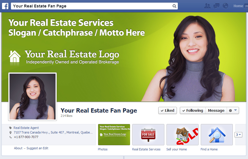 Your Real Estate Fan Page