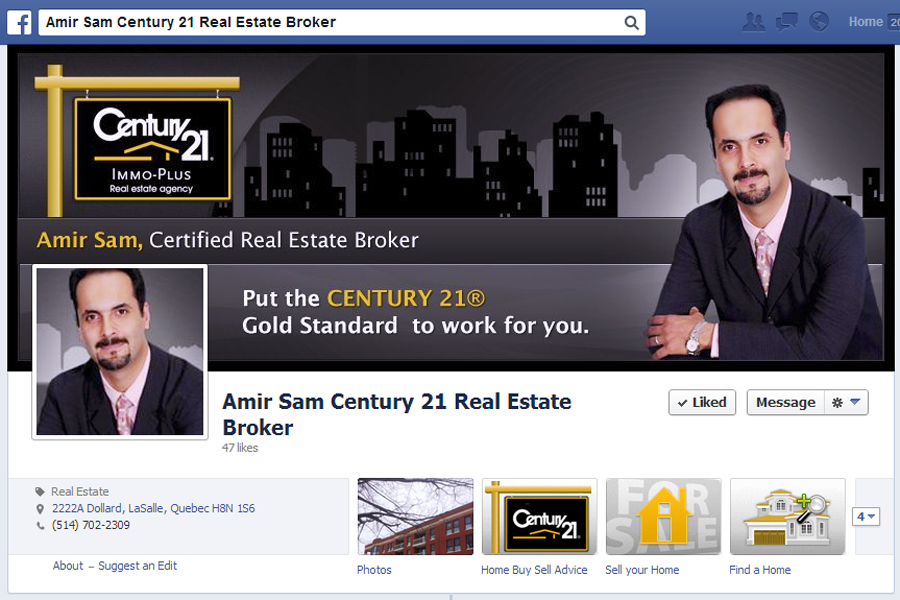 Amir Sam Century 21 Real Estate Broker