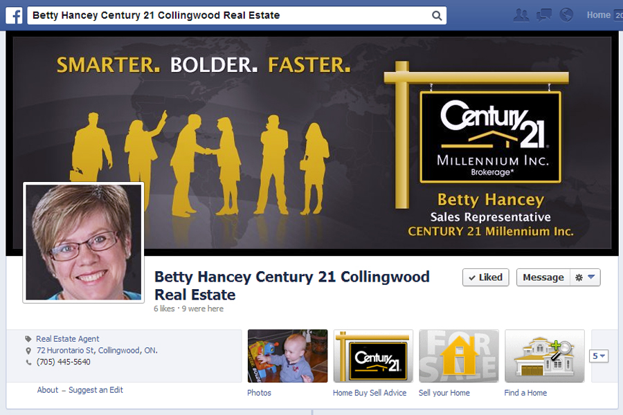 Betty Hancey Century 21 Collingwood Real Estate