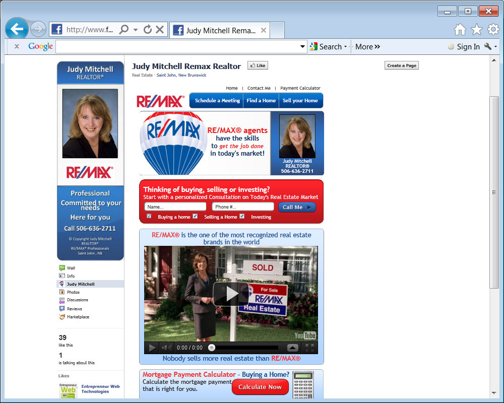 Judy Mitchell with Remax Professionals Saint John Inc.